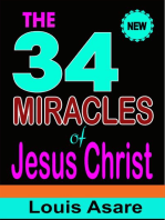 The 34 Miracles Of Jesus Christ