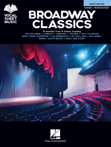 Broadway Classics - Men's Edition: Singer + Piano/Guitar