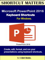 Microsoft PowerPoint 2016 Keyboard Shortcuts For Windows