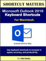 Microsoft Outlook 2016 Keyboard Shortcuts For Macintosh