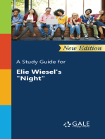 "A Study Guide (New Edition) for Elie Wiesel's ""Night"""