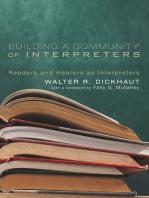 Building a Community of Interpreters