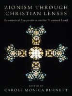 Zionism through Christian Lenses