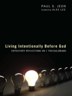 Living Intentionally before God