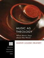 Music as Theology