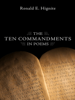 The Ten Commandments in Poems