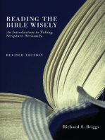 Reading the Bible Wisely