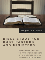 Bible Study for Busy Pastors and Ministers