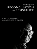 Writings on Reconciliation and Resistance