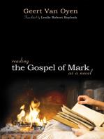 Reading the Gospel of Mark as a Novel