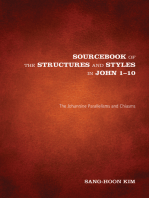 Sourcebook of the Structures and Styles in John 1-10