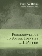 Foreknowledge and Social Identity in 1 Peter