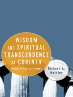 Wisdom and Spiritual Transcendence at Corinth
