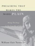 Preaching That Makes the Word Plain