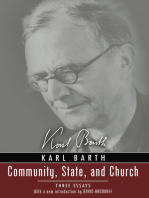Community, State, and Church