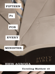 Fifteen Ps for Every Minister: Unveiling Matthew 10