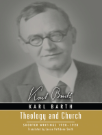 Theology and Church