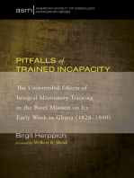 Pitfalls of Trained Incapacity