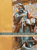 Paul's Covert Use of Scripture