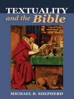 Textuality and the Bible