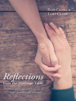 Reflections from the Marriage Table