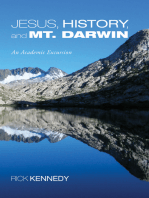 Jesus, History, and Mt. Darwin