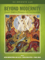 Beyond Modernity: Russian Religious Philosophy and Post-Secularism