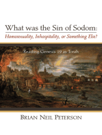 What was the Sin of Sodom