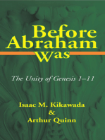 Before Abraham Was