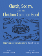 Church, Society, and the Christian Common Good