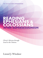 Reading Ephesians and Colossians after Supersessionism