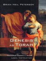 Genesis as Torah