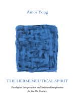 The Hermeneutical Spirit