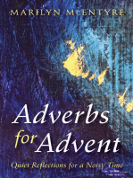 Adverbs for Advent