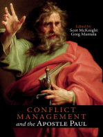 Conflict Management and the Apostle Paul
