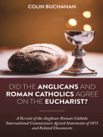 Did the Anglicans and Roman Catholics Agree on the Eucharist?