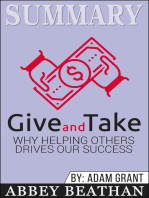 Summary of Give and Take