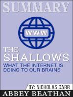 Summary of The Shallows