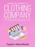 How to Start a Clothing Company