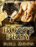 The Shifting Boss's Prey