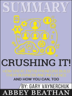 Summary of Crushing It!: How Great Entrepreneurs Build Their Business and Influence—and How You Can, Too by Gary Vaynerchuk