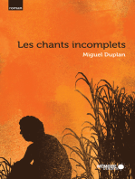 Les CHANTS INCOMPLETS