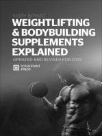 Weightlifting & Bodybuilding Supplements Explained