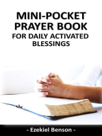Mini-Pocket Prayer Book for Daily Activated Blessings