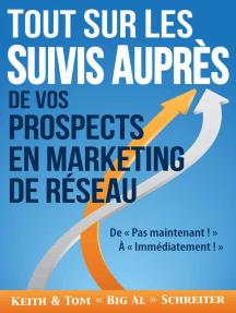 Tout Sur les Suivis Auprès de Vos Prospects en Marketing de Réseau : De « Pas maintenant ! » À « Immédiatement ! »
