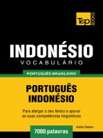 Vocabulário Português Brasileiro-Indonésio: 7000 Palavras