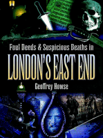 Foul Deeds & Suspicious Deaths in London's East End
