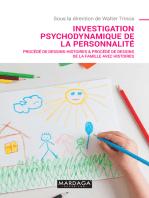 Investigation psychodynamique de la personnalité