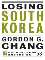 Losing South Korea