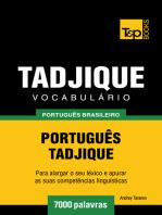Vocabulário Português Brasileiro-Tadjique
